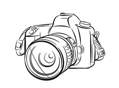 Moderne Fotokamera